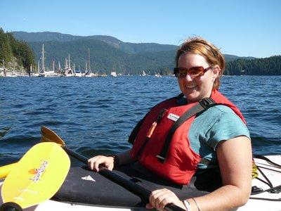 Kayaking in Deepcove