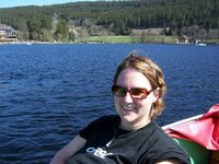 Boating on the Titisee