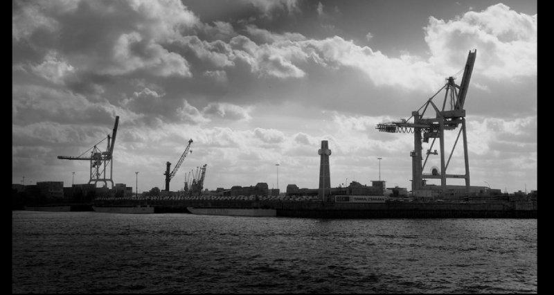 Hafengebiet Hamburg