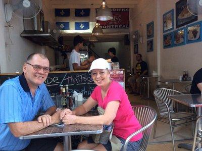 Au snack bar Bangkok de Bruno Blanchet
