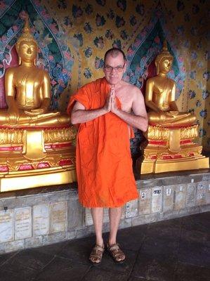 Jean s'est converti au bouddhisme ?