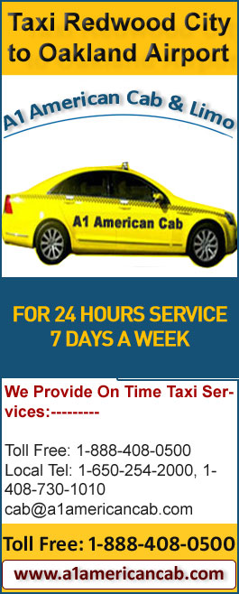 Local Taxi Services from Redwood City