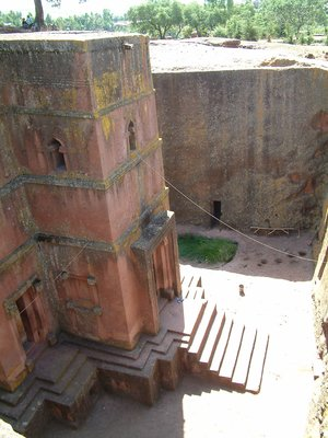 Church at Lalibela