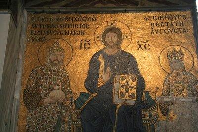 Aya Sofya mosaic