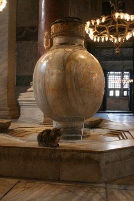 Marble Urn, Aya Sofya