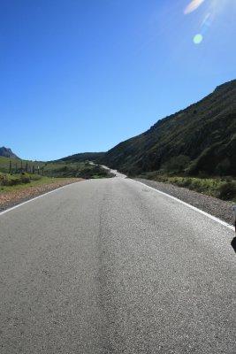 Road to El Torcal