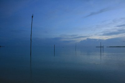Ohoidertawan beach at dawn
