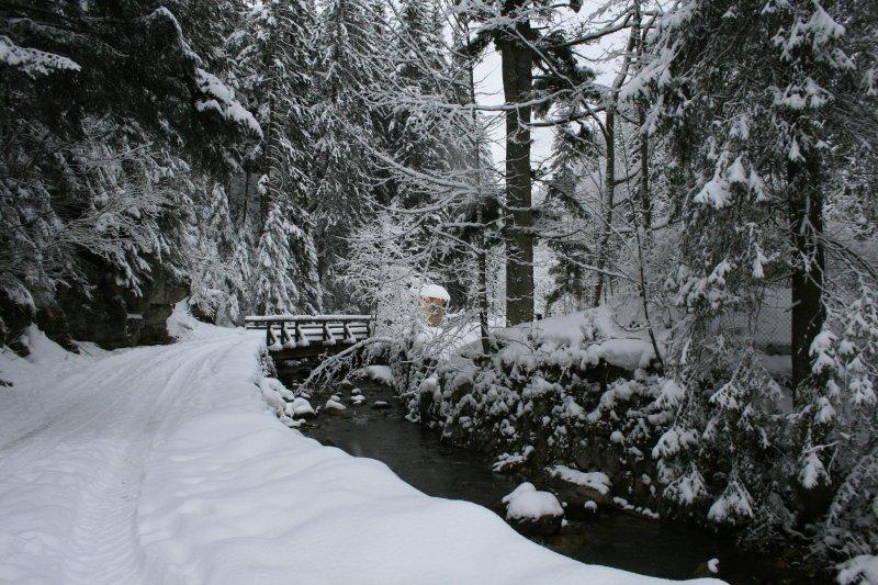 Entrance to Tatra National Park
