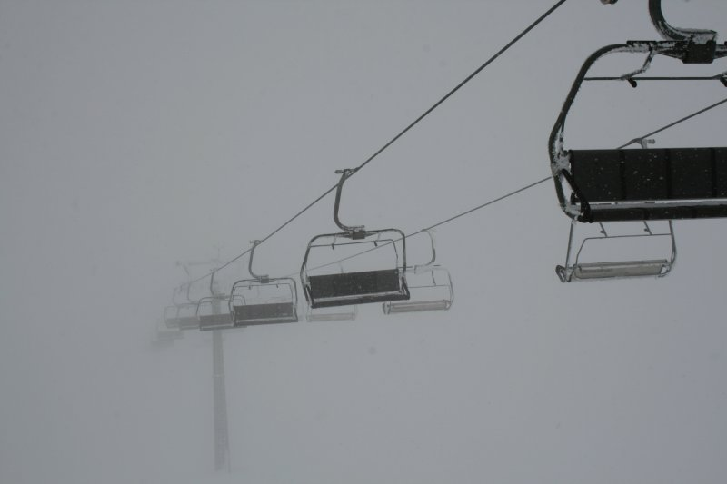 Chair lift to .....?