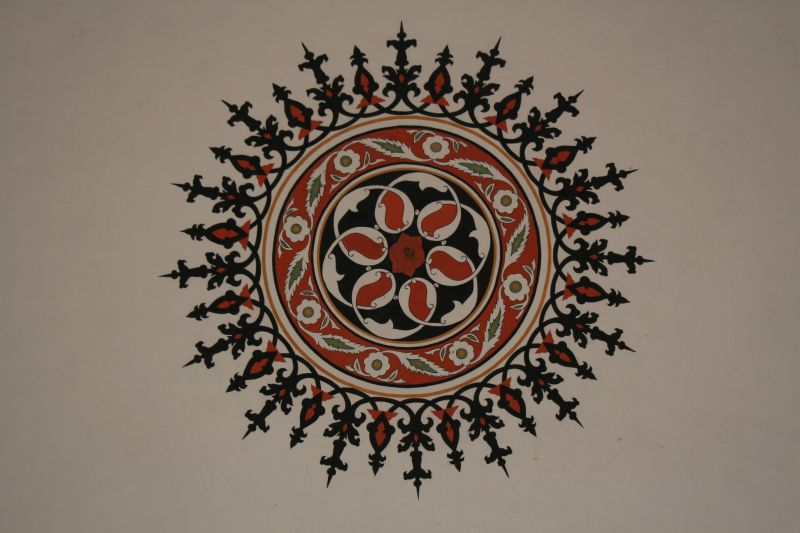 Ceiling detail, Atik Valide Camii, Uskudar