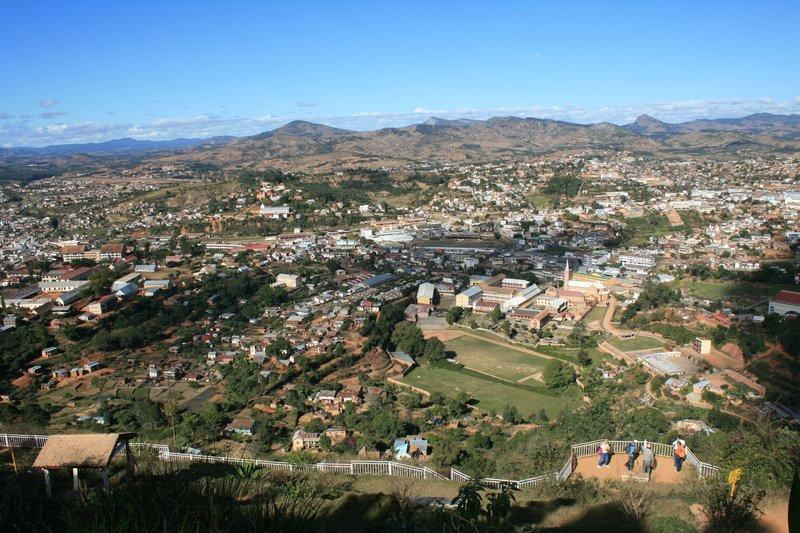 Overlooking Fianarantsoa