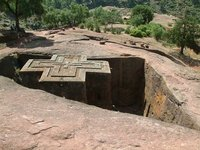 Rock Hewn Church in Lalibela