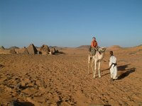 Me on a camel!