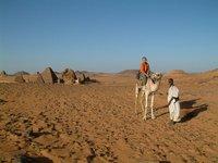 Me on a camel!