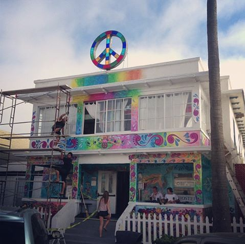San Diego's Ocean Beach International Hostel