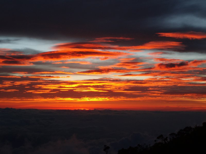 Sunset - Day 1 Mt Kinabalu