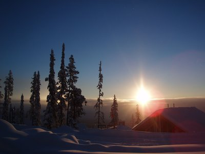Big White Sunrise