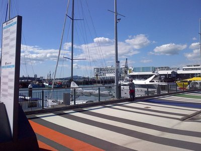puerto centro de Auckland