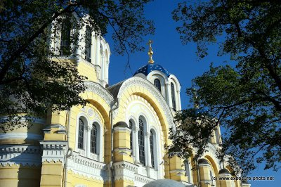 In 1852, metropolitan Philaret of Moscow suggested a large cathedral should be built in Kiev to commemorate the 900th anniversary of the baptism of Kievan Rus by prince Vladimir (Volodymyr) the Great of Kiev. People from all over the Russian Empire starte