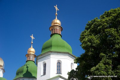 Originally the cathedral was a burial place of the Kievan rulers including Vladimir Monomakh, Vsevolod Yaroslavich and of course the cathedral's founder Yaroslav I the Wise, although only the latter's grave survived to our days.