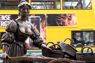 Molly Malone statue