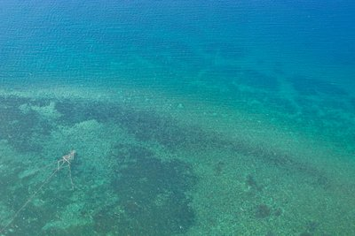 The sea from the sky