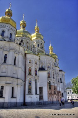 The Lavra became a leading religious and cultural focal point of Eastern Europe in the 12th century. Studios for icon painting and the creation of mosaics served many Kyiv churches, and a scriptorium oversaw translating of foreign literature into Slavic.