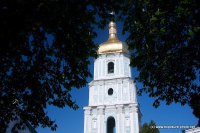 Saint Sophia Cathedral in Kiev is an outstanding architectural monument of Kievan Rus'. Today, it is one of the city's best known landmarks and the first Ukrainian patrimony to be inscribed on the World Heritage List.In Ukrainian the cathedral is known as