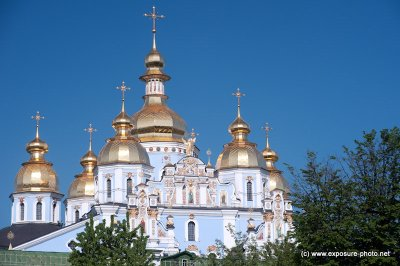The reconstruction of the Saint Michael's Church began on 24 May 1997. It was officially opened on 30 May 1999, but the interior decorations, mosaics, and frescoes were not completed until 2000. Subsequently (2001 and 2004), 18 of 29 art pieces in Moscow