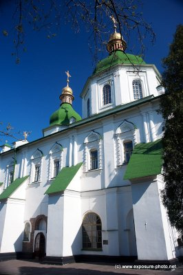 After the pillaging of Kiev by Andrei Bogolyubsky of Vladimir-Suzdal in 1169, followed by Mongolian Tatars in 1240, the cathedral fell into disrepair. Following the 1595-96 Union of Brest, the cathedral of Saint Sophia belonged to the Ukrainian Greek Cath