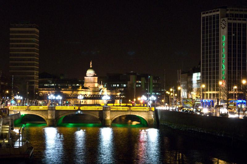 O'Connell Bridge's Night view