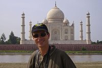 Me with the Taj Mahal