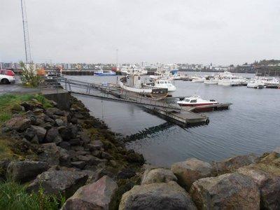 Hafnarfjordur port