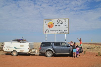Queensland and NT Boarder