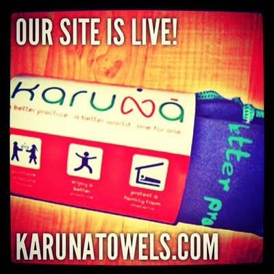 Karuna Towels - Yoga Towels That Fight Malaria