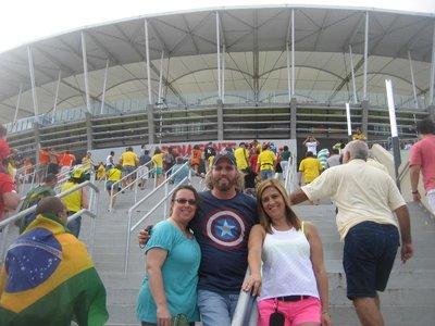 Stadium - Diana, Gwen, Greg
