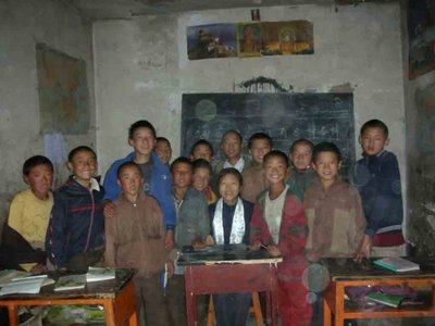 my Tibetan class and Chinese lesson