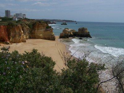 Praia da Rocha Beach!
