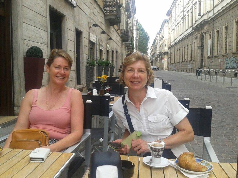 Iced coffee in Turin