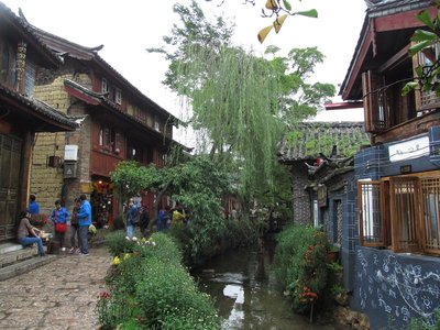 Lijiang old town waterway