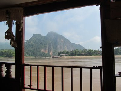 Slow boat up the Mekong