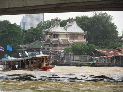 On the river in Bangkok
