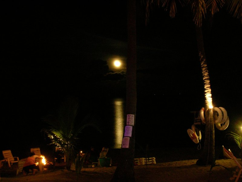 Full moon at Ko Phangan