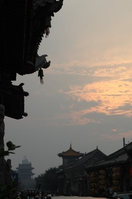 Ancient streets of Pingyao