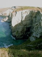 The Coastal path round Cornwall and Devon