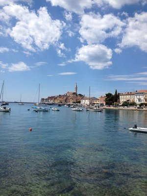 Harbor view of Rovinj