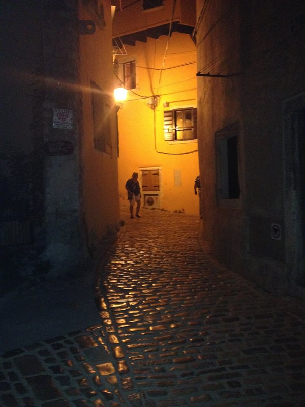 Roving dark alley