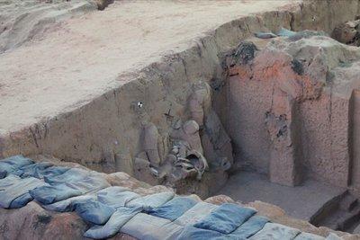 utgravning terracotta