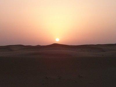 sand dunes in Al Ain Dubai