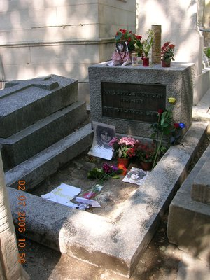 Grave of Jim Morrison